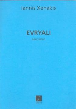 Iannis Xenakis - Evryali - Partition - di-arezzo.fr