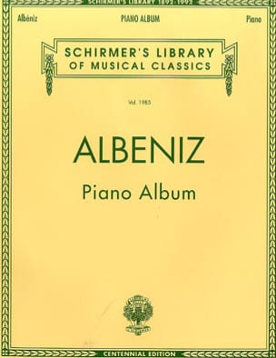 Isaac Albeniz - Piano Album - Partition - di-arezzo.fr