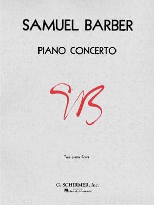 Concerto Pour Piano Opus 38 BARBER Partition Piano - laflutedepan