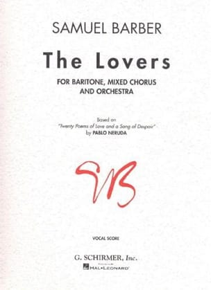 The Lovers Samuel Barber Partition Chœur - laflutedepan