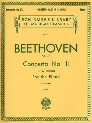 Concerto pour piano n° 3 en ut mineur Opus 37 BEETHOVEN laflutedepan
