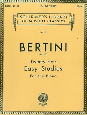 25 études faciles op. 100 - Henri Bertini - laflutedepan.com