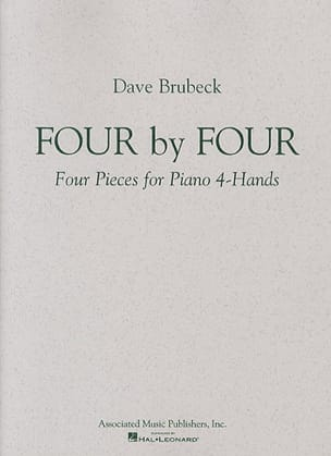 Dave Brubeck - 4 By 4. 2 Pianos - Partition - di-arezzo.fr