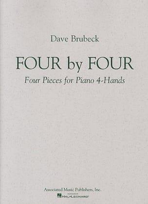 4 By 4. 2 Pianos Dave Brubeck Partition Piano - laflutedepan