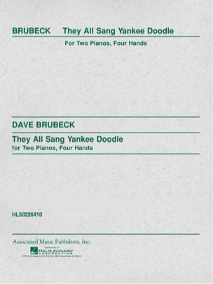 Dave Brubeck - They All Sang Yankee Doodle - Partition - di-arezzo.fr