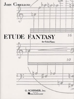 Etude Fantasy John Corigliano Partition Piano - laflutedepan