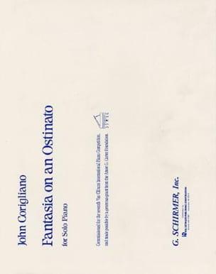 John Corigliano - Fantasia On An Ostinato - Partition - di-arezzo.fr