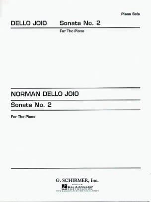 Sonate N° 2 Joio Norman Dello Partition Piano - laflutedepan
