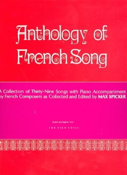 - Anthology of french song. Aloud - Sheet Music - di-arezzo.co.uk