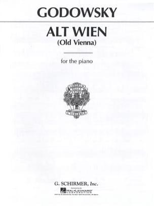 Alt Wien GODOWSKY Partition Piano - laflutedepan