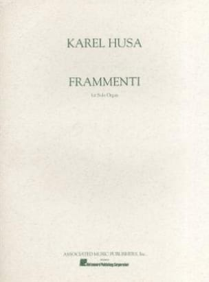 Karel Husa - Fragments - Sheet Music - di-arezzo.com