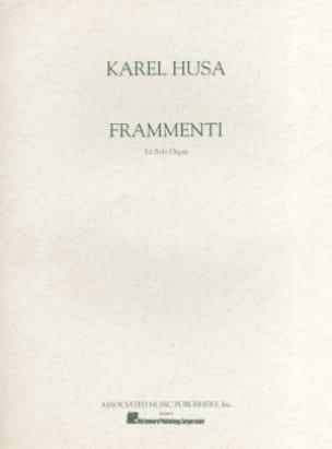 Karel Husa - fragmentos - Partitura - di-arezzo.es