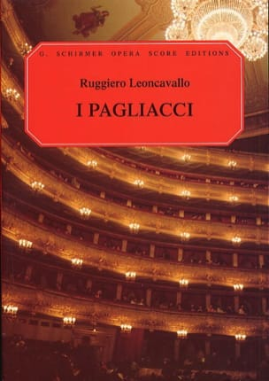 Ruggiero Leoncavallo - Pagliacci - Sheet Music - di-arezzo.co.uk