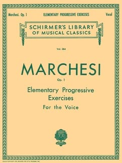 Mathilde Marchesi - Elementary Progressive Exercices Opus 1 - Sheet Music - di-arezzo.com