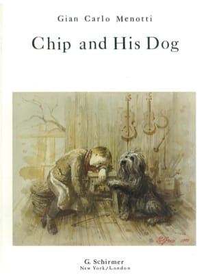 Chip And His Dog - Gian-Carlo Menotti - Partition - laflutedepan.com