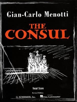The Consul Gian-Carlo Menotti Partition Opéras - laflutedepan