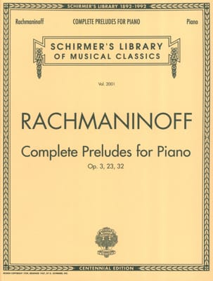 RACHMANINOV - preludes - Sheet Music - di-arezzo.co.uk