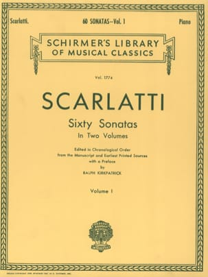 Domenico Scarlatti - 60 Sonatas. Volume 1 - Partition - di-arezzo.fr