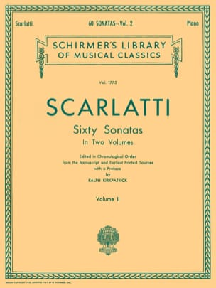 Domenico Scarlatti - 60 Sonatas Volume 2 - Partition - di-arezzo.fr