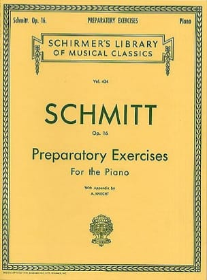 Aloys Schmitt - Preparatory Exercises Op. 16 - Sheet Music - di-arezzo.com