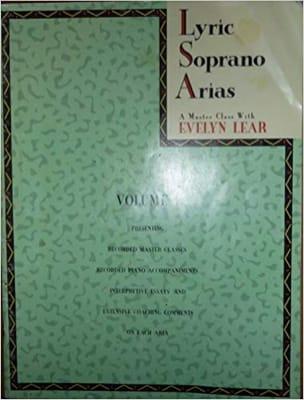 Lyric Soprano Arias Volume 1 Bk/Cass - laflutedepan.com