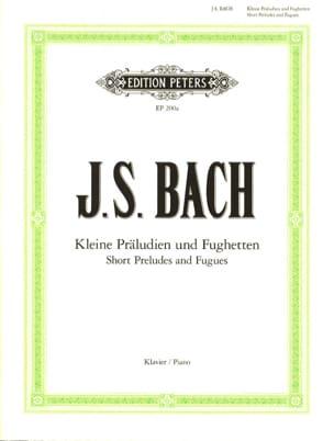 Kleine Präludien und Fughetten BACH Partition Piano - laflutedepan