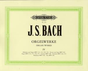 Orgelwerke. Volume 4 - Jean-Sébastien Bach - laflutedepan.com
