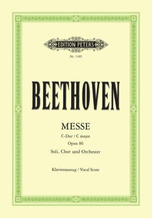 Messe En Ut Opus 86 - Ludwig van Beethoven - laflutedepan.com