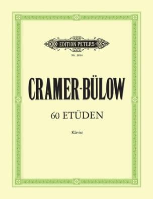 60 Etudes - Cramer Jean-Baptiste / Bülow - laflutedepan.com