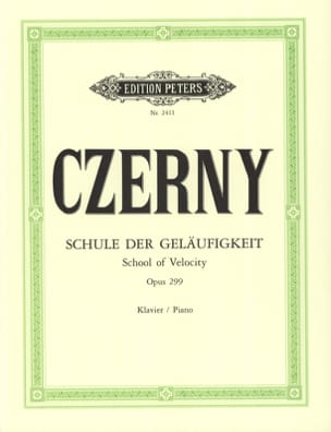 CZERNY - School of Opus Velocity 299 - Sheet Music - di-arezzo.com