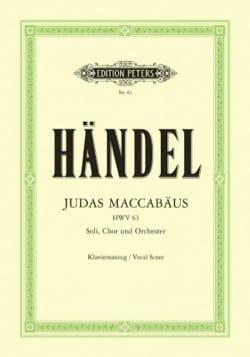 Judas Maccabäus HWV 63 - Georg-Friedrich Haendel - laflutedepan.com