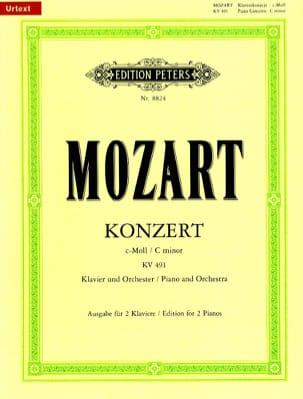 MOZART - Piano Concerto No. 24 In C Minor K 491 - Sheet Music - di-arezzo.co.uk
