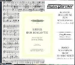 Lieder Der Romantik. Voix Grave CD SCHUBERT Partition laflutedepan