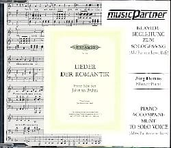 SCHUBERT - Lieder Der Romantik. Voix Grave CD - Partition - di-arezzo.fr