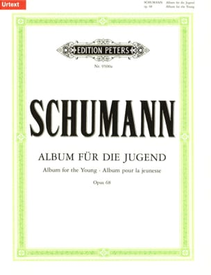 SCHUMANN - Album for Die Jugend Opus 68 - Sheet Music - di-arezzo.co.uk