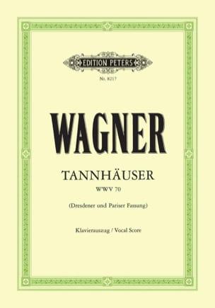 Richard Wagner - Tannhäuser Wwv 70 - Partition - di-arezzo.fr