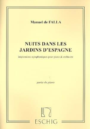 Noches En Los Jardines de España. Piano Solo - laflutedepan.com