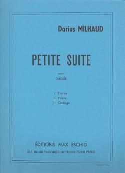 Petite Suite Opus 348 MILHAUD Partition Orgue - laflutedepan