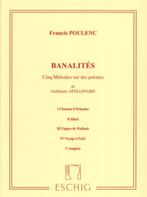 Francis Poulenc - small talk - Sheet Music - di-arezzo.com