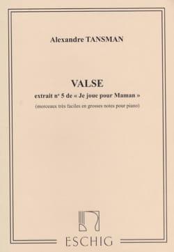 Alexandre Tansman - Waltz - Sheet Music - di-arezzo.com
