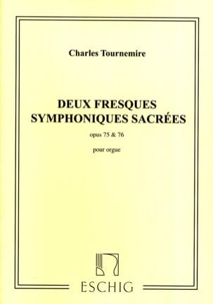 2 Fresques Symphoniques Sacrées Opus 75 et 76 - laflutedepan.com