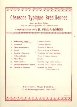 Heitor Villa-Lobos - Palida Madona - Sheet Music - di-arezzo.co.uk