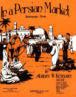 Albert Ketelbey - On an Original Persian Market - Sheet Music - di-arezzo.com