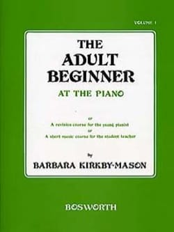 The Adult Beginner At The Piano Volume 1 - laflutedepan.com