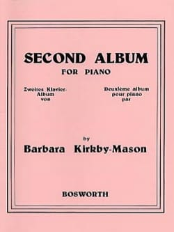 Second Album For Piano - Barbara Kirkby-Mason - laflutedepan.com