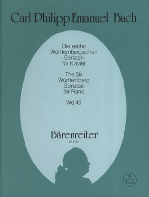 Die 6 Württembergischen Sonaten Wq 49 laflutedepan