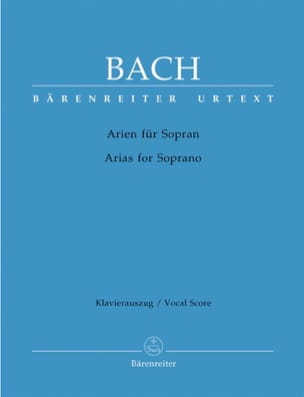 BACH - Das Arienbuch Soprano - Sheet Music - di-arezzo.co.uk