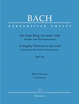 Johann S Bach - Ein Feste Burg Ist Unser Gott. Cantate Zum Reformationsfest. BWV 80 - Sheet Music - di-arezzo.com
