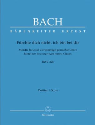 Motet N°4 Furchte Dich Nicht, Ich Bin Bei Dir BWV 228 laflutedepan