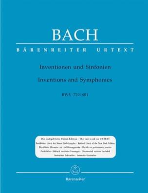 Jean-Sébastien Bach - Inventions A 2 et 3 Voix - Partition - di-arezzo.fr